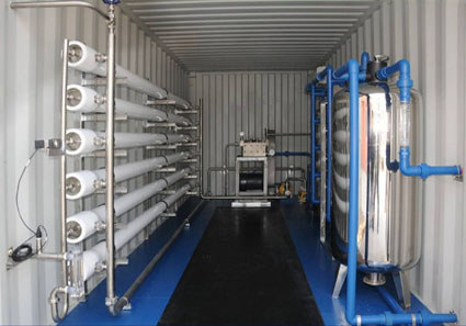 containerized reverse osmosis water system