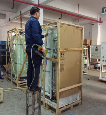 20TPD seawater desalination RO system