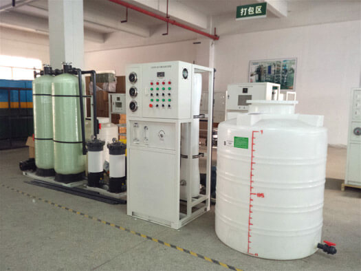 20 T/D seawater desalination system