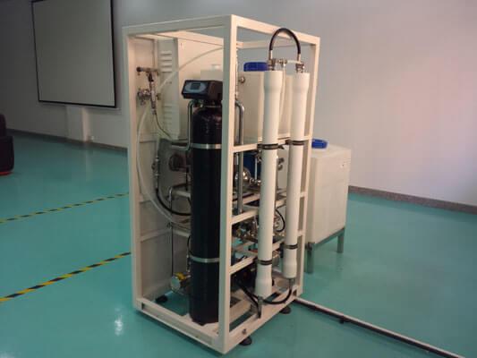 2TPD seawater desalination plant