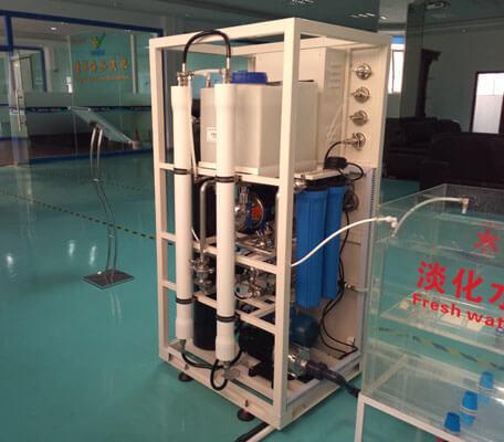 2T/D seawater desalination plant