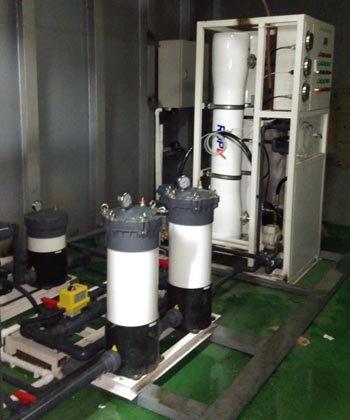 20 T/D seawater desalination plant