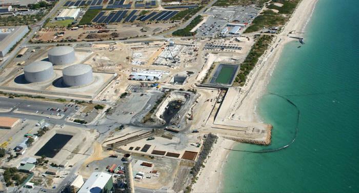 Australia Perth Seawater Desalination Plant