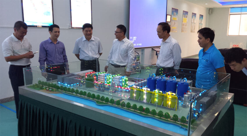 expert visit KYsearo seawater desalination