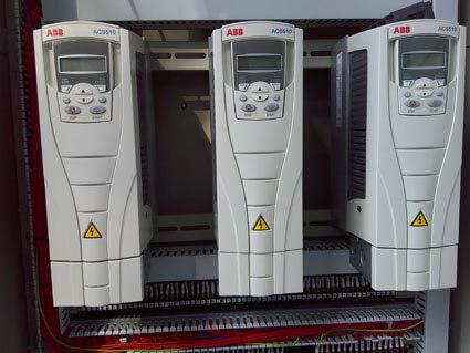 ABB converter for desalination system
