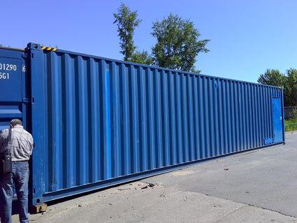 container of swro plant