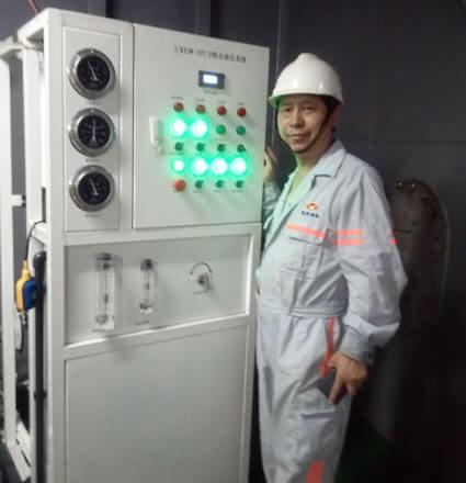 intall desalination plant