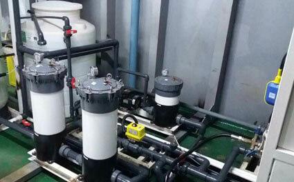 marine desalination plant