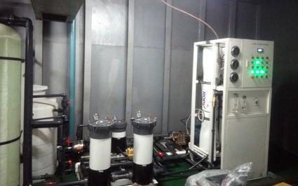 marine desalination system