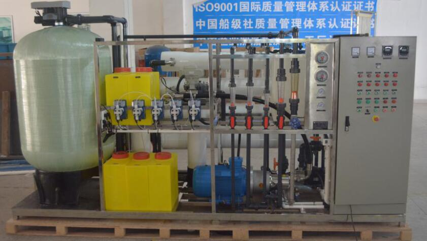 Kysearo 50 TPD SWRO System Plant Exporting to India Market