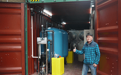 containerized seawter desalination machine - Kangyang